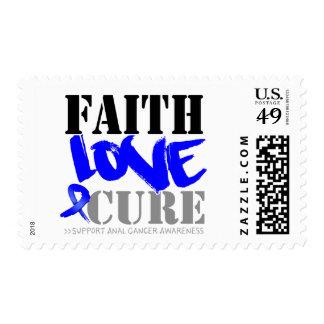 Anal Cancer Faith Love Cure Postage