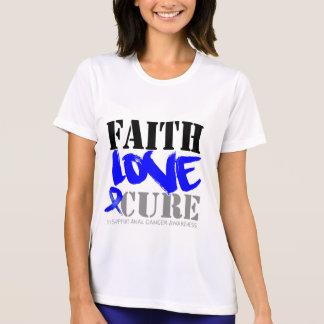 Anal Cancer Faith Love Cure Shirt