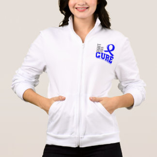 Anal Cancer Fight For A Cure Printed Jacket