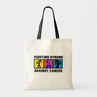 Anal Cancer Fighting Strong Budget Tote Bag