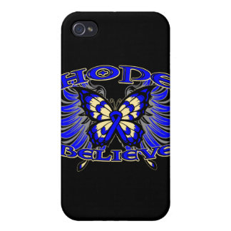 Anal Cancer Hope Believe Butterfly iPhone 4/4S Case