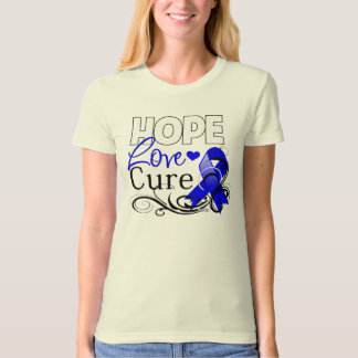 Anal Cancer Hope Love Cure T Shirt