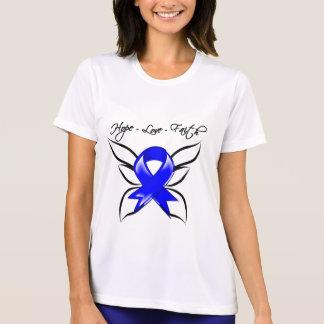Anal Cancer Hope Love Faith T-shirt