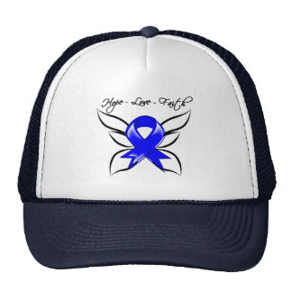 Anal Cancer Hope Love Faith Trucker Hat
