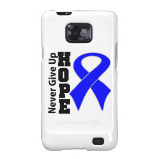 Anal Cancer Hope Never Give Up Galaxy S2 Cases