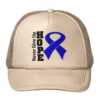 Anal Cancer Hope Never Give Up Hats