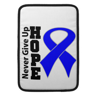 Anal Cancer Hope Never Give Up MacBook Air Sleeves