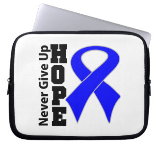 Anal Cancer Hope Never Give Up Laptop Computer Sleeve