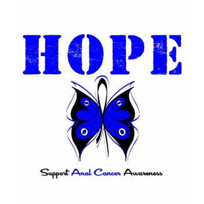 Anal Cancer Hope Shirt by giftsforawareness