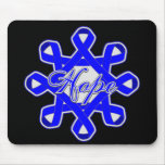 Anal Cancer Hope Unity Ribbons Mouse Pad