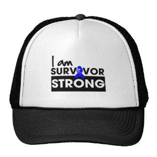 Anal Cancer I am Survivor Strong Trucker Hat