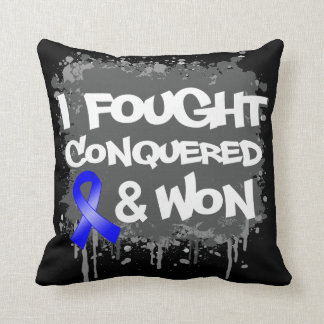 Anal Cancer I Fought Conquered Won Pillow