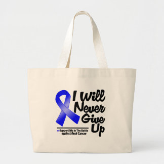 Anal Cancer I Will Never Give Up Tote Bags