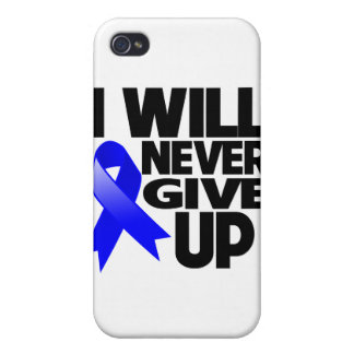Anal Cancer I Will Never Give Up Cover For iPhone 4