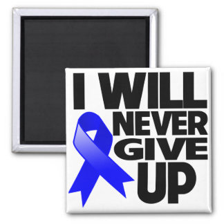 Anal Cancer I Will Never Give Up Refrigerator Magnets