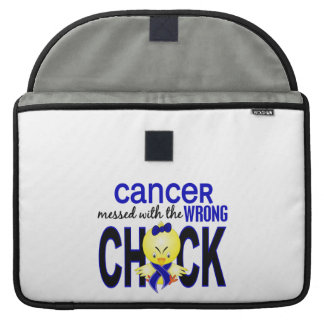 Anal Cancer Messed With Wrong Chick MacBook Pro Sleeves