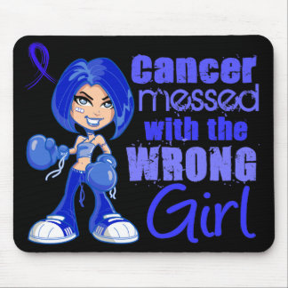 Anal Cancer Messed With Wrong Girl Mouse Pad