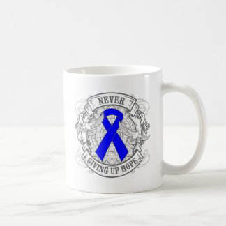 Anal Cancer Never Giving Up Hope Coffee Mugs