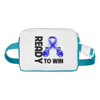 Anal Cancer Ready To Win Nylon Fanny Pack