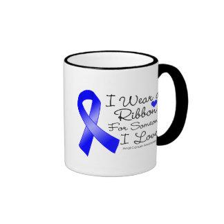 Anal Cancer Ribbon Someone I Love Coffee Mugs