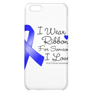 Anal Cancer Ribbon Someone I Love iPhone 5C Case