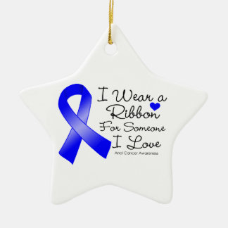 Anal Cancer Ribbon Someone I Love Ornaments