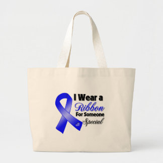 Anal Cancer Ribbon Someone Special Jumbo Tote Bag