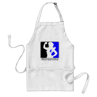 Anal Cancer Strength Fight Like A Girl Adult Apron