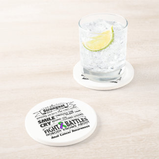 Anal Cancer Strongest Among Us Coaster