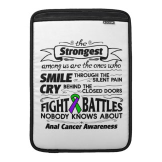 Anal Cancer Strongest Among Us MacBook Sleeve