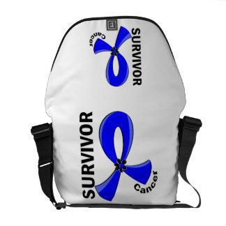 Anal Cancer Survivor 12 Messenger Bags