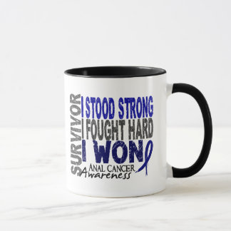 Anal Cancer Survivor 4 Mug