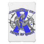 Anal Cancer Survivor By Day Ninja By Night Cover For The iPad Mini