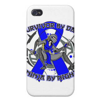 Anal Cancer Survivor By Day Ninja By Night iPhone 4/4S Covers