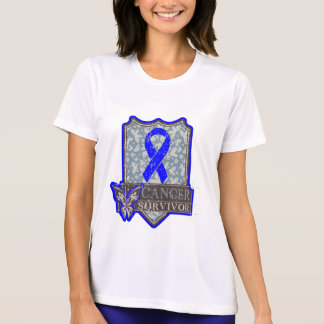 Anal Cancer Survivor Vintage Butterfly T-shirts