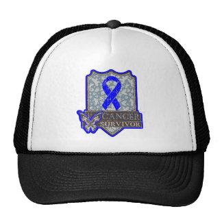 Anal Cancer Survivor Vintage Butterfly Trucker Hat
