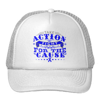 Anal Cancer Take Action Fight For The Cause Trucker Hats