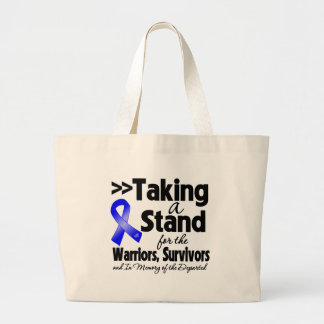 Anal Cancer Taking a Stand Tribute Jumbo Tote Bag