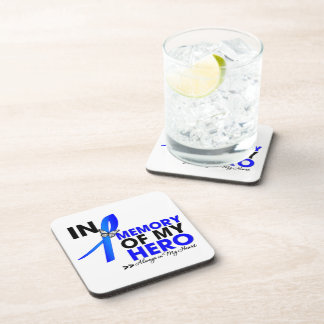 Anal Cancer Tribute In Memory of My Hero Coaster