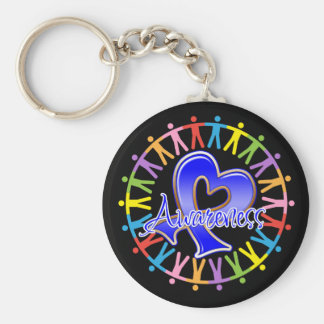 Anal Cancer Unite in Awareness Key Chain