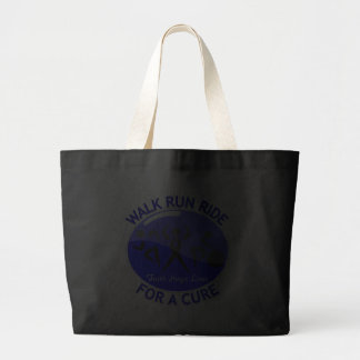 Anal Cancer Walk Run Ride For A Cure Canvas Bags