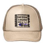 Anal Cancer Warrior Fight Slogans Mesh Hat