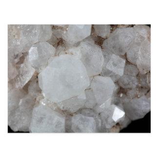 Analcime Minerals Postcard
