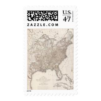 Analfabetismo masculino blanco timbres postales
