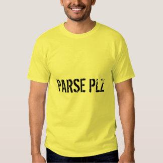 ANALICE la camiseta del PLZ Playeras