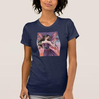 Analiese - camisa de la hada de la mariposa