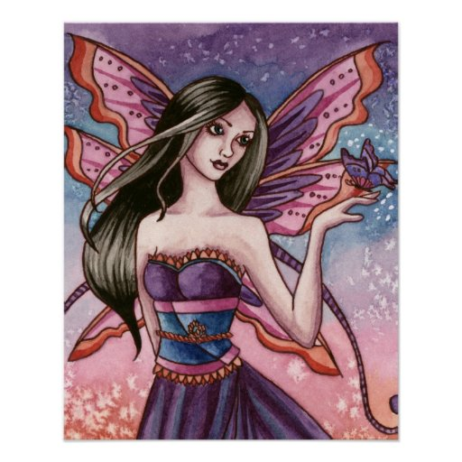 Analiese - poster de la hada de la mariposa