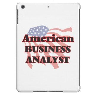 Analista americano del negocio funda para iPad air