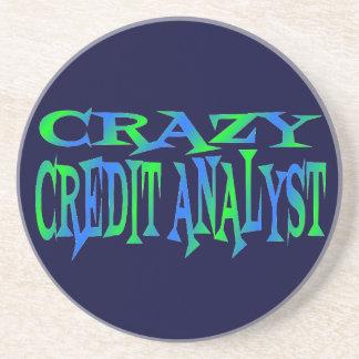 Analista de crédito loco posavasos manualidades