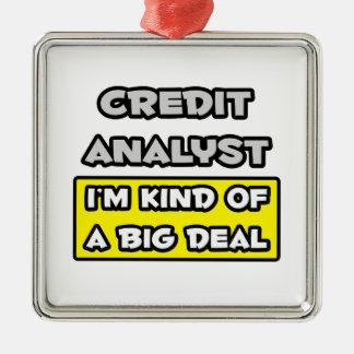 Analista de crédito. Soy un poco una gran cosa Ornamento Para Arbol De Navidad